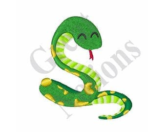 Small Snake - Machine Embroidery Design
