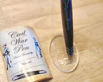 Wenge Civil War Inspired Twist Pen