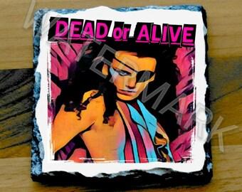 Pete Burns Printed Mug Coaster Coasters . Dead or Alive
