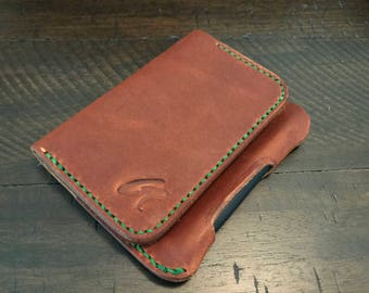 The Scribe Wallet - Moleskine XS Volant Notebook Card Case - Horween Leather