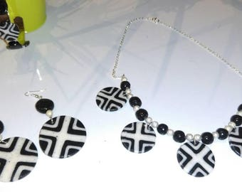 New collection necklace graphic
