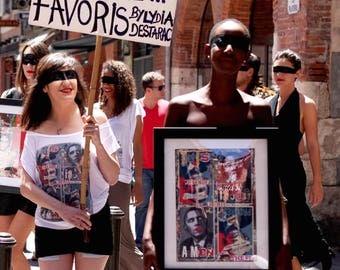 Wild woman Artshirt - Bioethics - Obama artwork or your choice