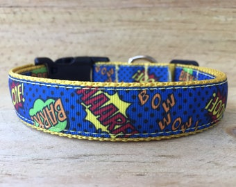 Comic Dog Collar