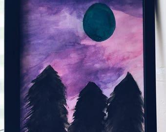 Purple Sky Prints