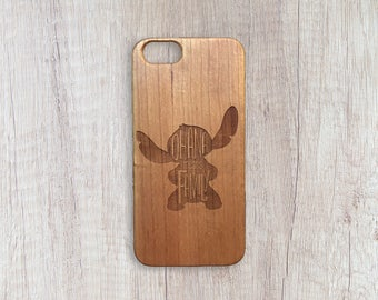 Ohana Is Family - Personalised Wooden Phone Case