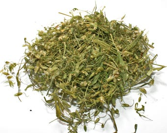 Organic dried Chickweed herb, Stellaria media dried, dried herb