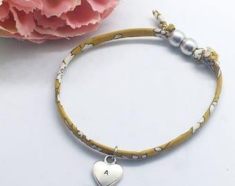 Personalised childrens Liberty bracelet   Gifts for girls   Gifts for children   Personalised gifts   Childs bracelet   Fabric bracelet