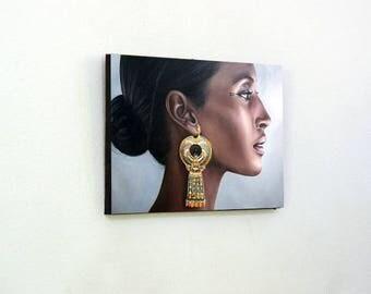 Egyptian Woman Wall Photo