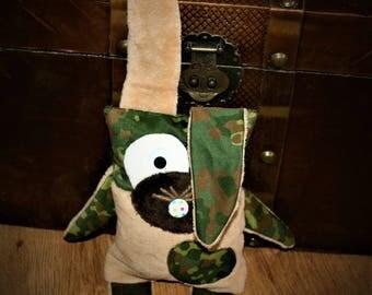 Bunny Flecki, camouflage, beige brown
