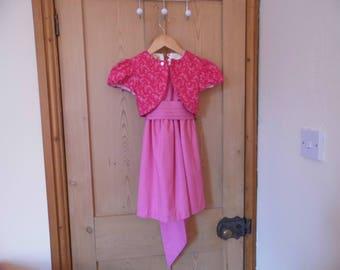 Party Dress & Bolero Jacket