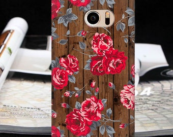 Floral case htc One M8 mini htc One M9 htc One S9 htc One M10 htc 10 htc 10 Lifestyle wood case htc One A9 htc One E8 One E9 One X9 One ME
