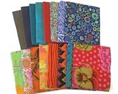 Kaffe Fassett 16 Fat Quarter Bundle, Kaffe Fassett Pre-Cuts, Pre-Cut Quilting Fabric, Fat Quarters, Quilting Fabric, Free Spirit Fabric