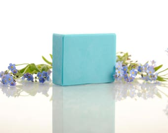 Palm-Free Natural Handmade Soap with Shea Butter - Ozone Fragrance