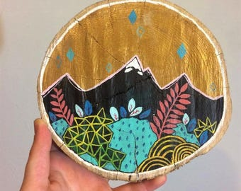 Wood Painting