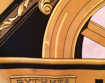 Hermes Rythmes vintage scarf