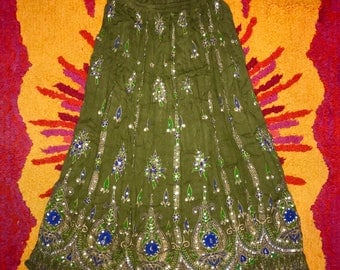 60's Gypsy Indian Skirt