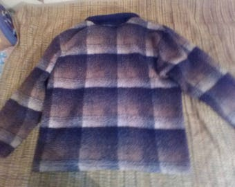 Cross Roads sweater with zipper.