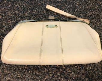 Vintage White Handbag/Clutch