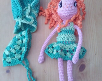 AGRIPPINA doll crochet 100% cotton