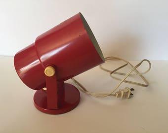 Red Spotlight Lamp