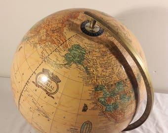"Vintage 15"" Cram's Imperial World Globe"