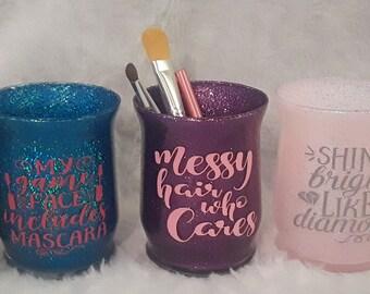 glitter makeup brush  etsy
