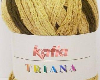 KATIA TRIANA 100GR THREE //44 BROWN WOOL