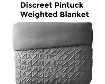 pintuck bedding etsy. Black Bedroom Furniture Sets. Home Design Ideas