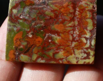 Moss Agate Natural for Jewelry Supplies