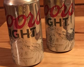 Coors beer candle