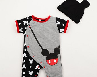 Baby Mickey Romper Jumpsuit
