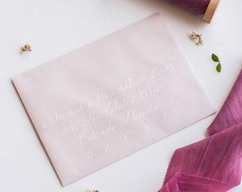 Calligraphy Envelope Addressing.
