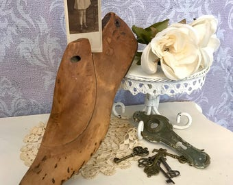 Vintage Shoe Form, Cobbler's Shoe form
