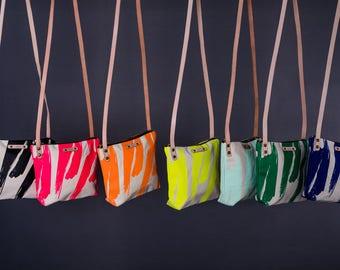 Canvas Crossbody Bag, Shoulder Bag, Canvas Bag, Crossbody Purse, Toiletry Bag, Makeup Bag, Coin Purse, Cosmetic Bag, Casual Bag, Woman Bag