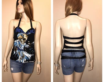 Metallica Couture Top Size M
