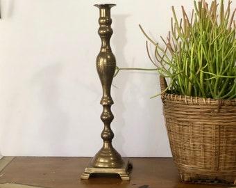 Huge Brass Vintage Candleholder
