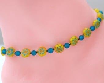 Hippie anklet womans, birthday gift