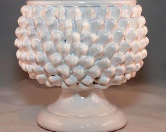 """Traditional Sicilian Pine Cone """"Pigna"""" Vase"""