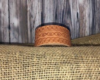 Genuine Leather Wrist Cuff