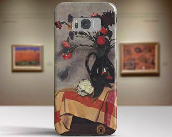"Félix Vallotton, ""Still Life with Self-portrait"". Samsung Galaxy S8 Plus Case LG V30 case Google Pixel Case Galaxy A5 2017 Case."