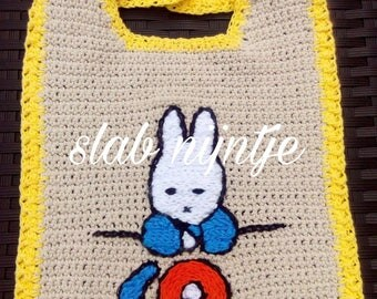 Bib with Miffy