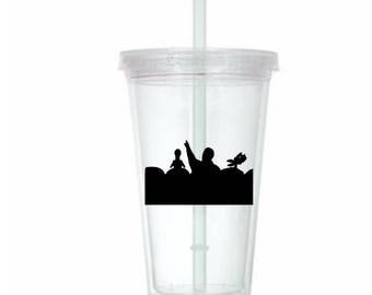 Mystery Science Theatre 3000 MST3K Horror Tumbler Cup Gift Home Decor Gift for Her Him Any Color Personalized Custom Merch Massacre