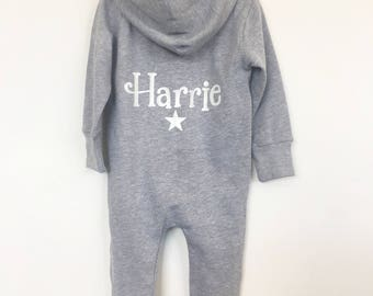 Personalised toddler onesie (all in one tracksuit)