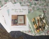 CYBER WEEK DIY Salt Lake City Temple Cross Stitch Packet