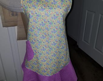 Floral Womans apron