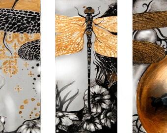 Art Print - Modular Dragon Fly