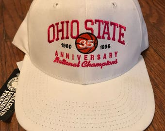 THE Ohio State University Basketball Championship Hat