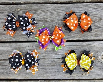 Halloween Bows/ Fall bow/ Fall headband/ Halloween headband