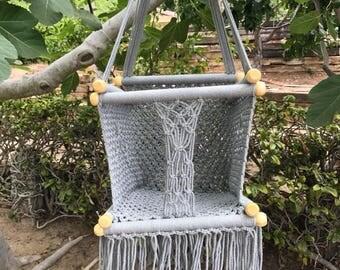 Macrame Baby Swing - Handmade in Nicaraugua