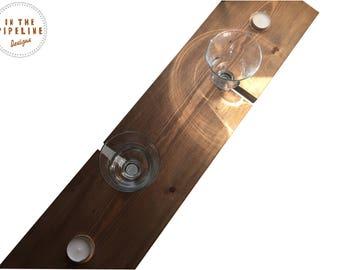 Bespoke Bath Tray, Bath Caddy, Bath Wine Tray, Bath Board, Couples Bath Tray, Rustic Wooden Bath Tray, Rustic Bath Caddy, Wine Caddy
